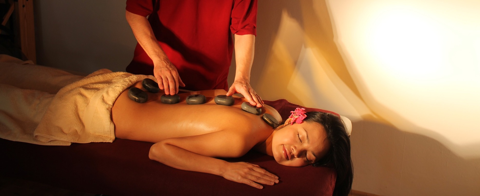 Hot Stone Massage in Much Hoole